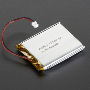 Lithium Ion 3.7V 2500mAh