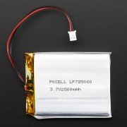 Lithium Ion 3.7V 2500mAh top