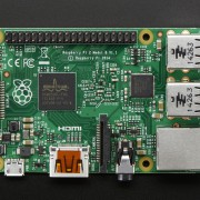Raspberry Pi 2 - top