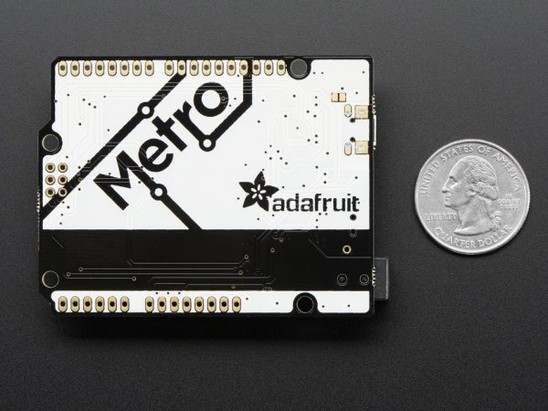 Adafruit METRO 328 without Headers - ATmega328 - back