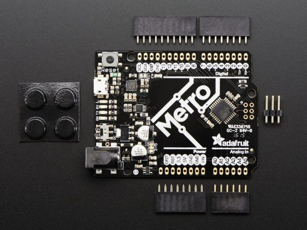 Adafruit METRO 328 without Headers - ATmega328 - top