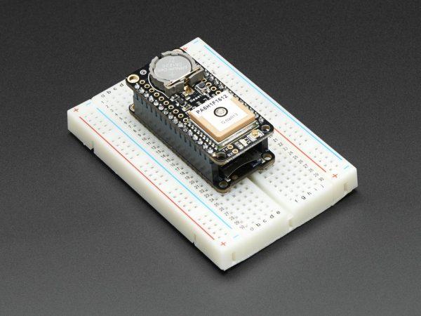 Adafruit Ultimate GPS FeatherWing - mounted