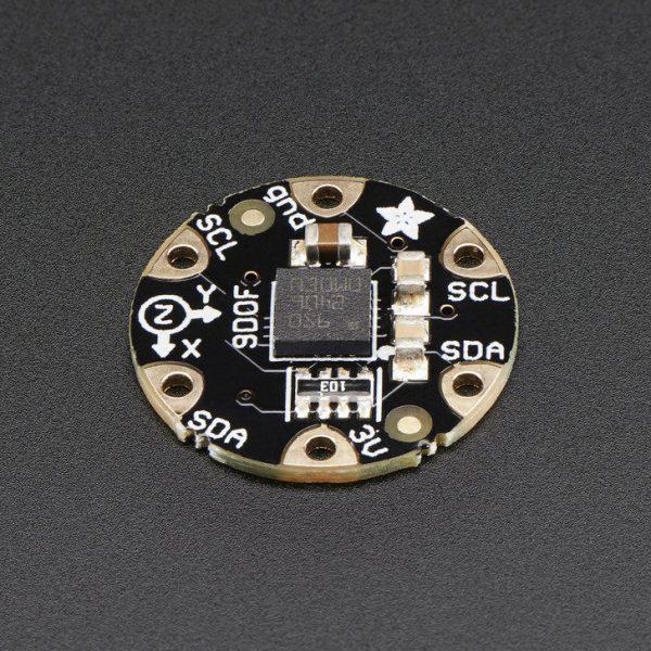 FLORA 9-DOF Accelerometer-Gyroscope-Magnetometer - top